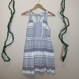 Lou & Grey Racerback Striped Dress w Pockets